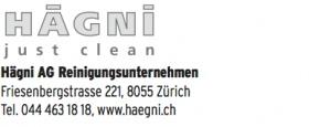 Hägni AG Reinigungsunternehmen